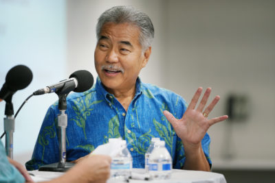 Know Your Candidates: A Fireside Chat With David Ige