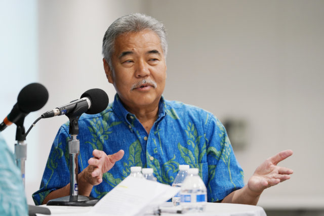 Civil Beat Meet your Candidate Gov Ige at HPU. 2 aug 2018
