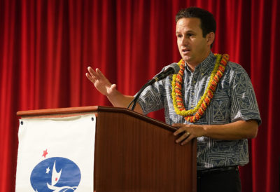 Schatz: Make First Democratic Debate About Climate