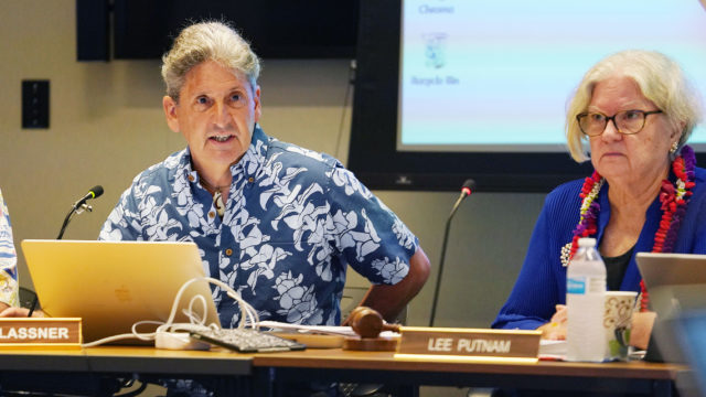 University Hawaii Board of Regents Meeting at Manoa David Lassner .