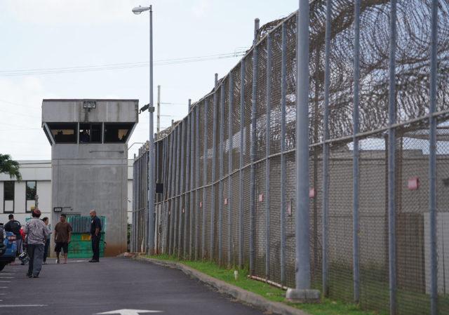 OCCC Oahu Community Correctional Center Dillingham side.