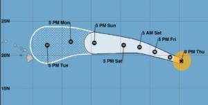 It's Early, But Hurricane Olivia Is Tracking Toward Hawaii