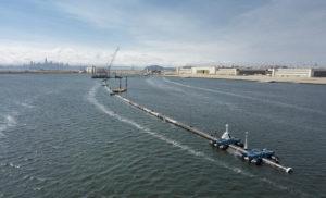 This Massive Boom Aims To Snag Pacific Ocean's Plastic Trash
