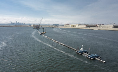 This Massive Boom Aims To Snag Pacific Ocean's Plastic Trash