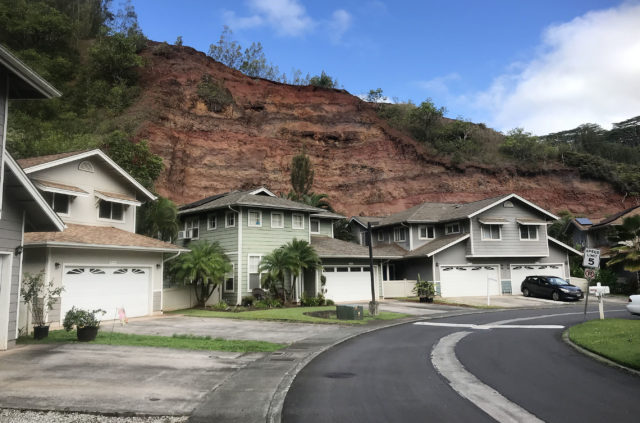Wikao Place in Mililani Landslide1.