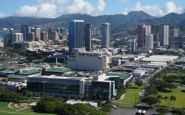 UH Medical School Kakaako.