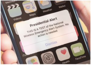The Next Emergency Text You Get May Be From The President