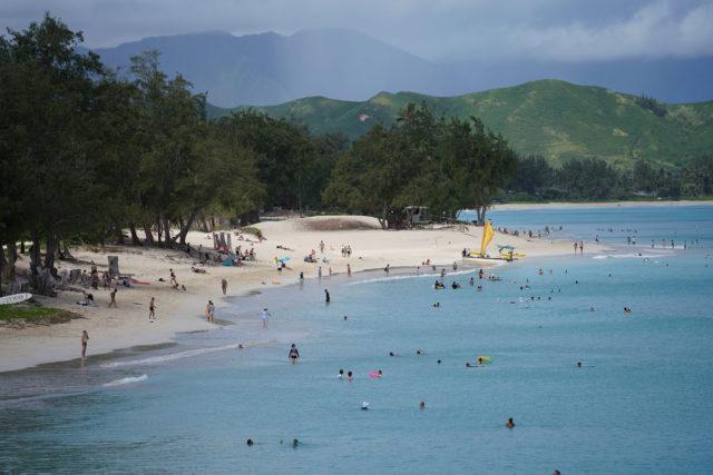 Kailua Beach Park.