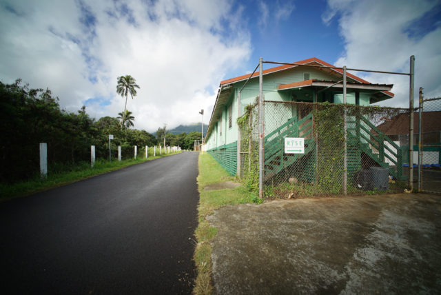 RYSE Youth Homeless Shelter, nestled near Olomana and the Koolau mountains at the former Youth corrections facility.
