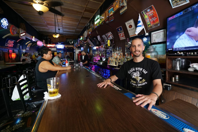 Smiths Union Bar owner Dwight Lockwood,
