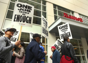 Hotel Workers Strike In San Francisco But Stay On The Job In Hawaii