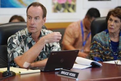 DOE Board Member Bruce Voss.