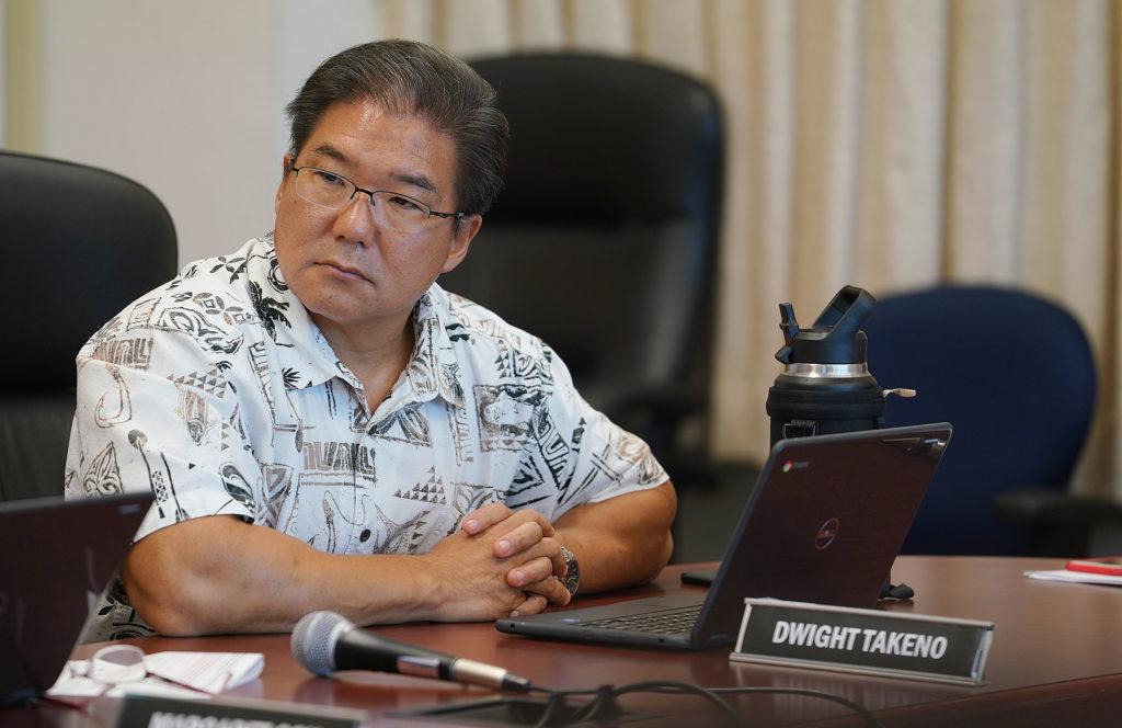 DOE Board Member Dwight Takeno.