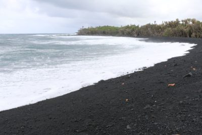 Big Island: Beach Created By Volcanic Eruption Was Born Polluted