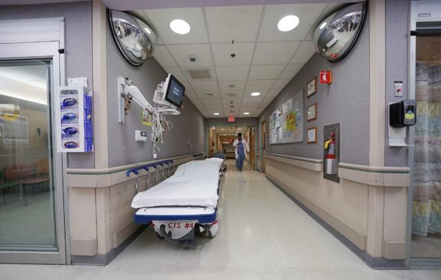 Queens Emergency Room medical equipment.