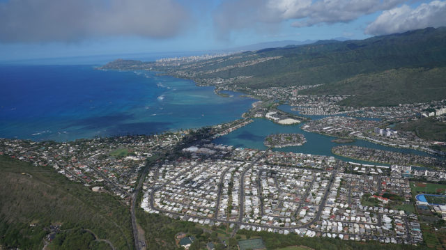 East Oahu Honolulu Hawaii Kai aerial2.