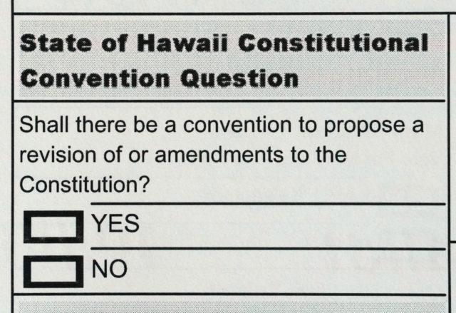 ConAm Ballot Hawaii vote.