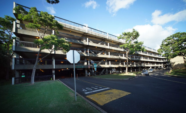 University of Hawaii at Manoa Parking Structure UH.