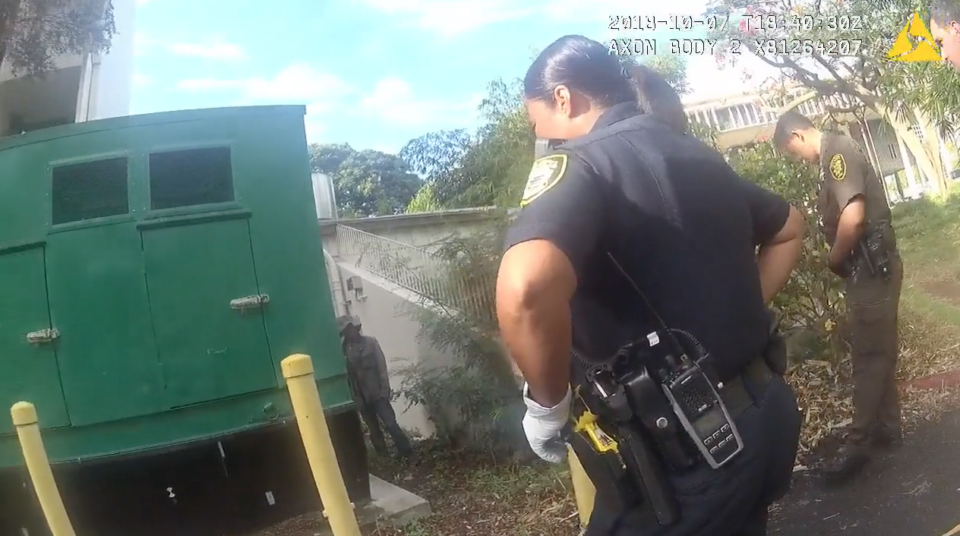 HPD Body Cam Video Shows Fatal Shooting At State Capitol