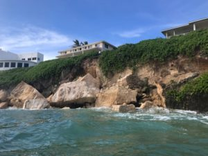 Denby Fawcett: What Caused This North Shore Cliff To Collapse?