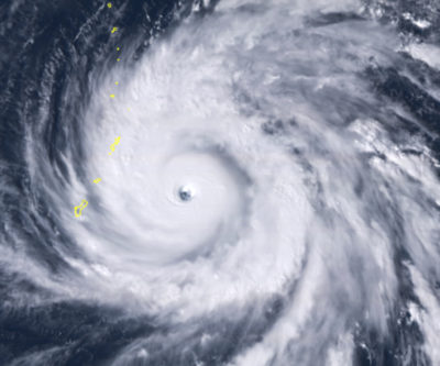 Super Typhoon Yutu Hits Northern Marianas With 180-mph Winds