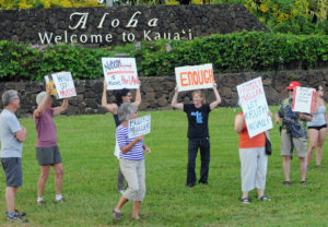 Kauai: How The Island's 'Hyde Park' Became A Magnet For Protests
