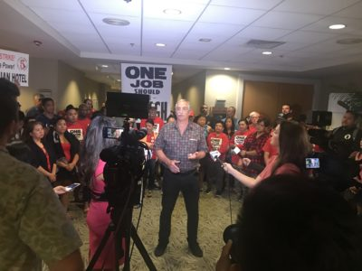 Election Violations Prompt New Vote For Hawaii Hotel Union Leadership