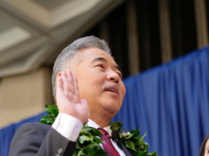 Ige Begins Second Term With Call To 'Move Forward, Together'