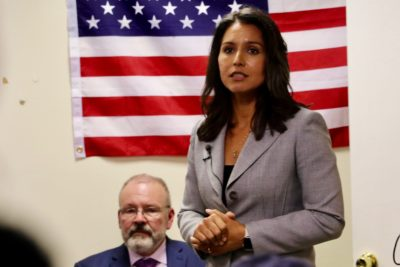 Gabbard Barely Registers In Latest Round Of Primaries