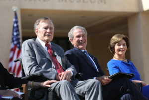 My Visit With George H. W. Bush
