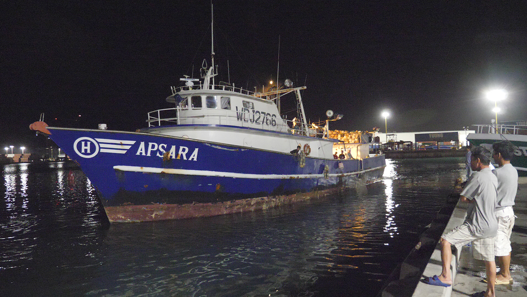 <p>Long before the sun rises, a vessel pulls up to the pier to unload its catch of ahi. Hawaii&#8217;s longline fleet has extended its season by purchasing some of the fishing rights of Pacific island nations, guaranteeing a steady flow of fish through the holiday season.</p>