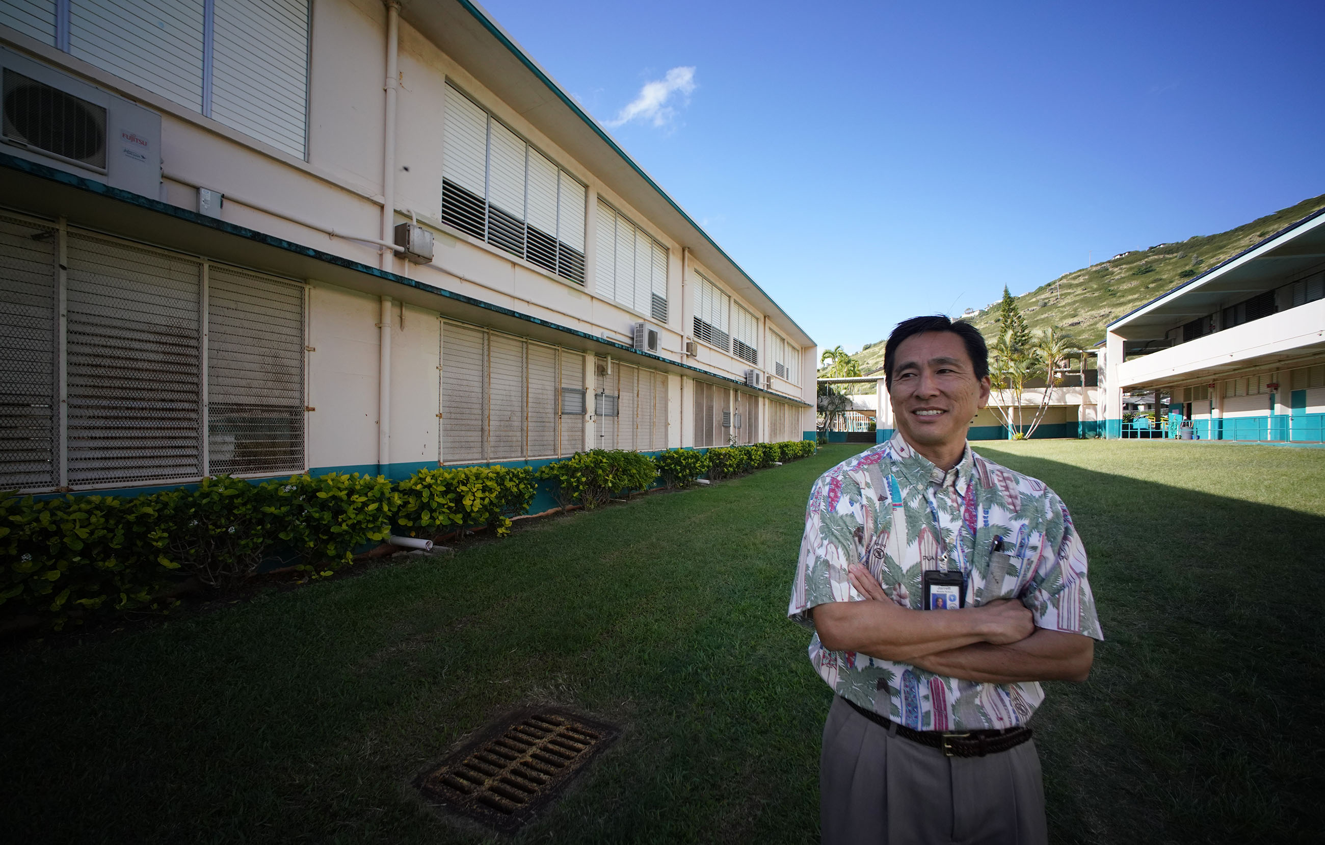 Jarrett Middle School Principal Reid Kuba.