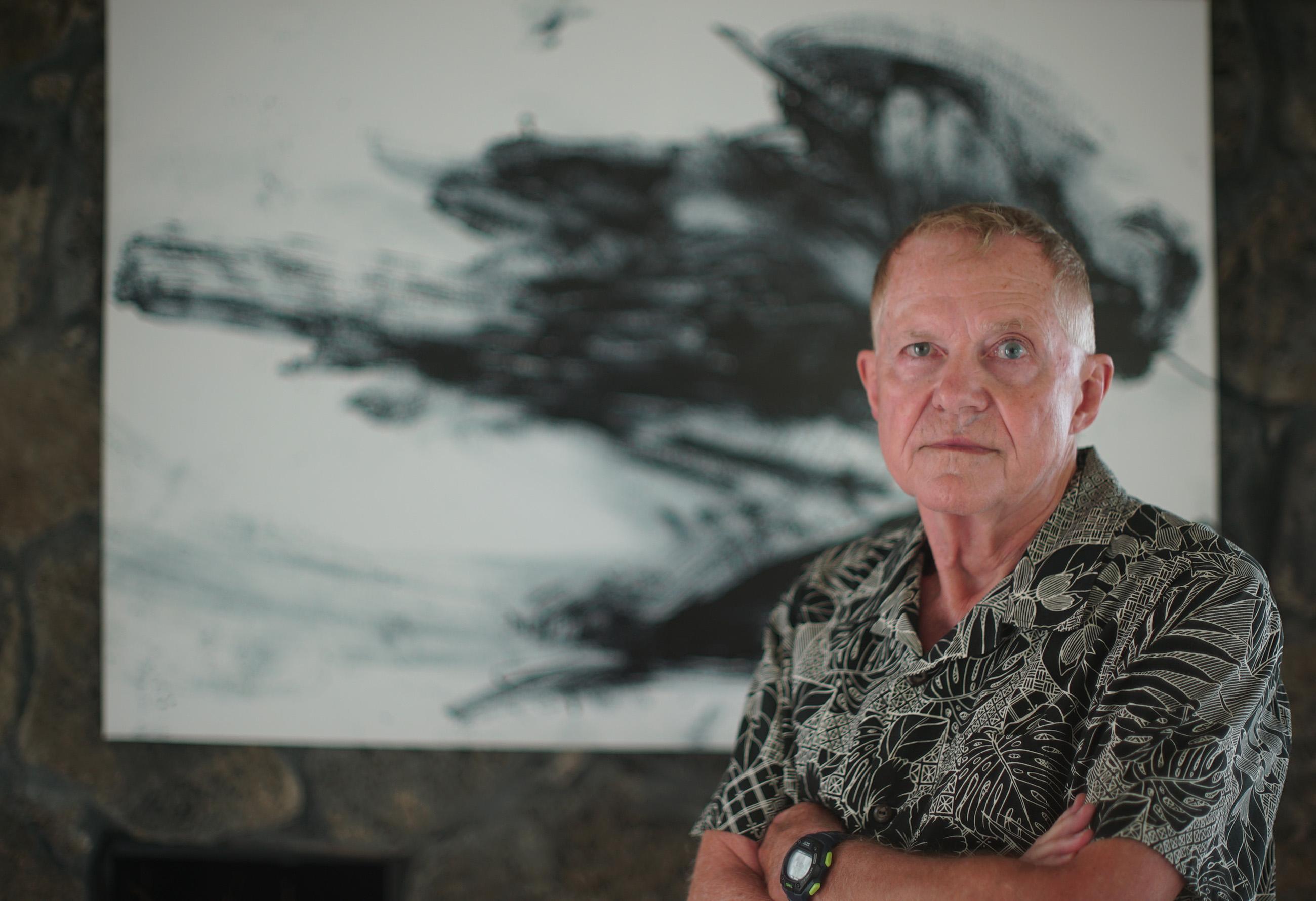 Dr Chuck Miller portrait.