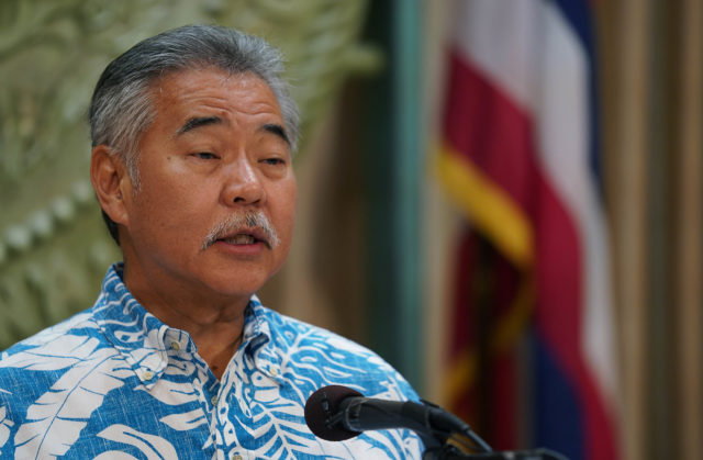 Governor David Ige Budget presser closeup1.