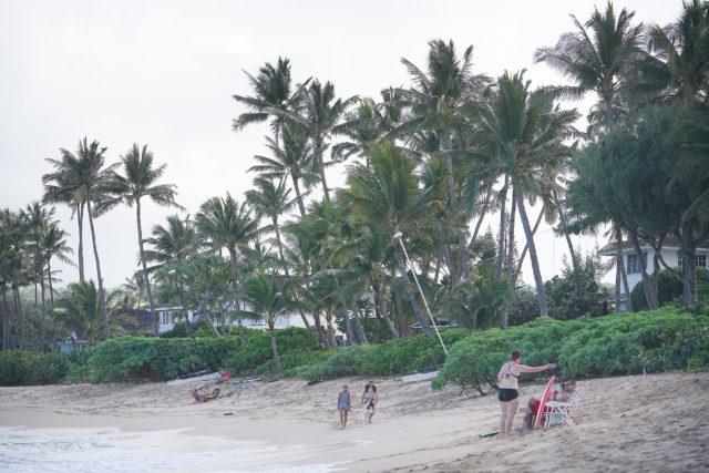 North Shore Oahu homes along Beachfront airBnb.