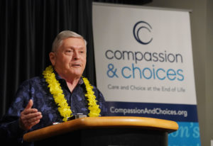 He Fought For Hawaii's Aid In Dying Law. Now He Wants To Use it.