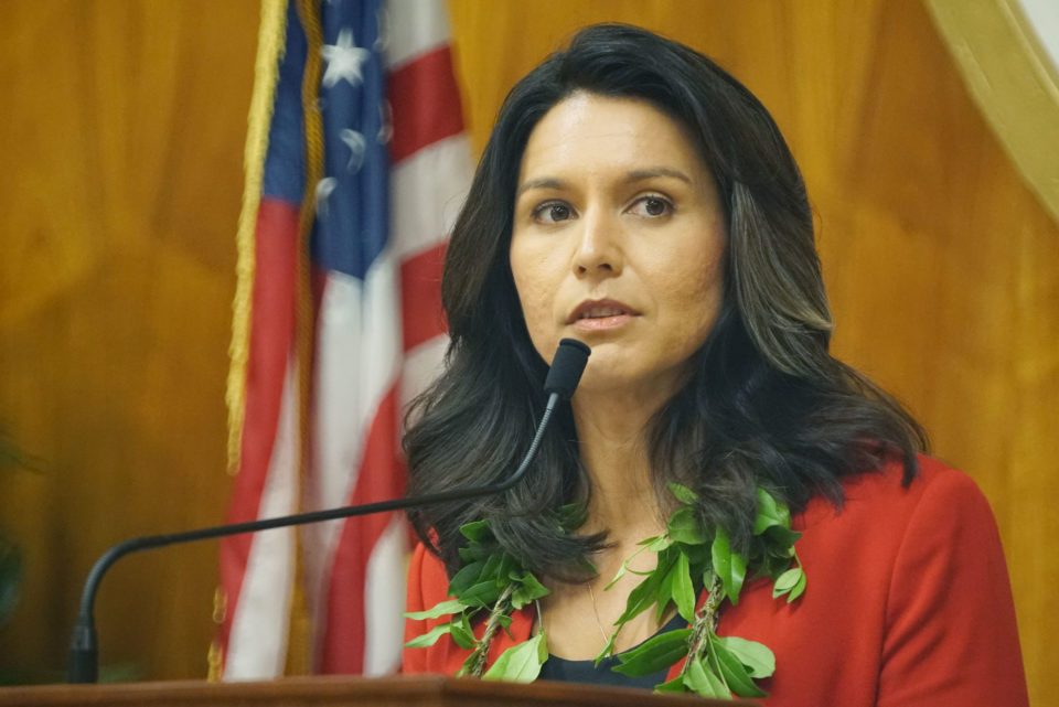 Gabbard Lags Behind Presidential Race Frontrunners In Fundraising