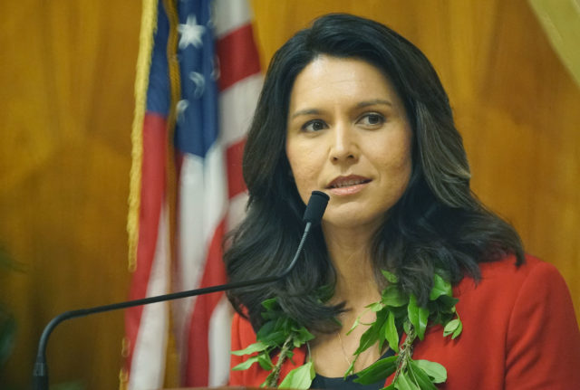 Congresswoman Tulsi Gabbard speech to Honolulu City Council.