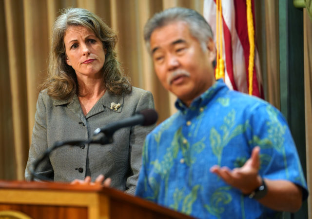 Clare Connors Interim Attorney General presser with Gov Ige2.