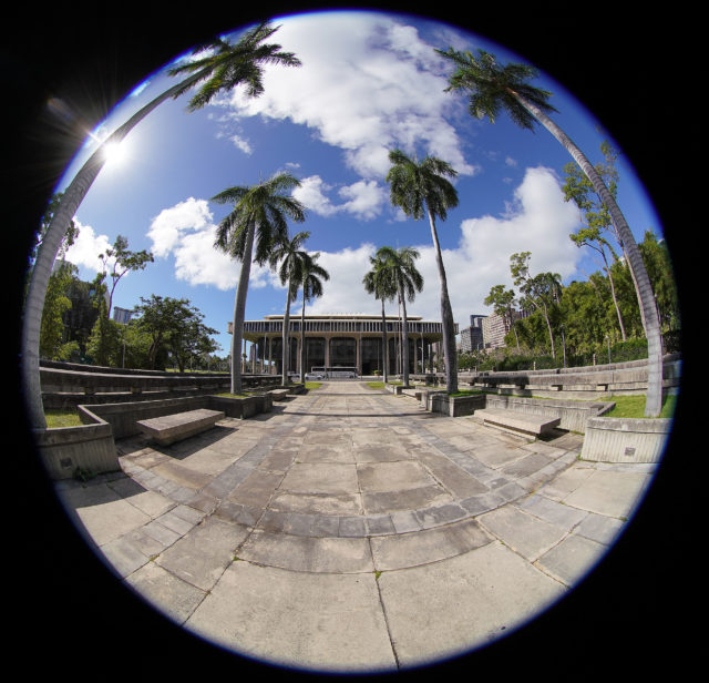 Capitol with fisheye lens. 2019