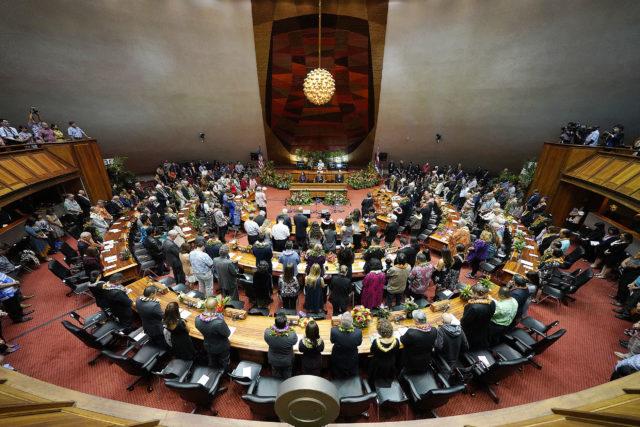 House Chambers Legislature opening 2019.