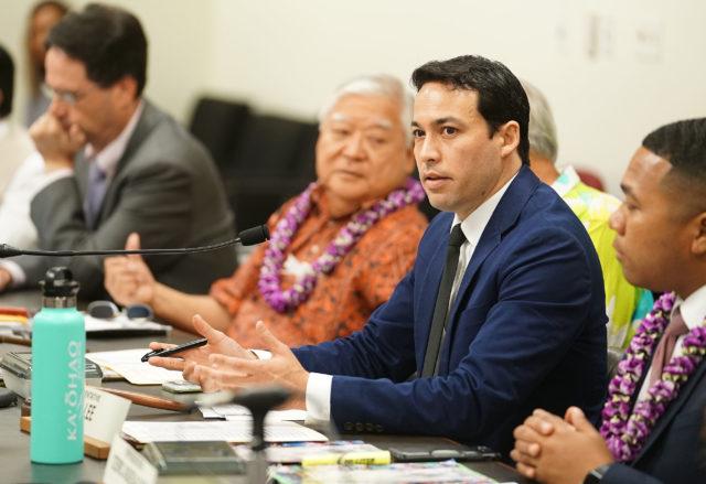 Rep Chris Lee legislative informational briefing on prisons.
