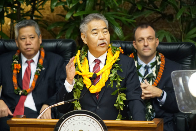 Gov David Ige State of State address 2019.
