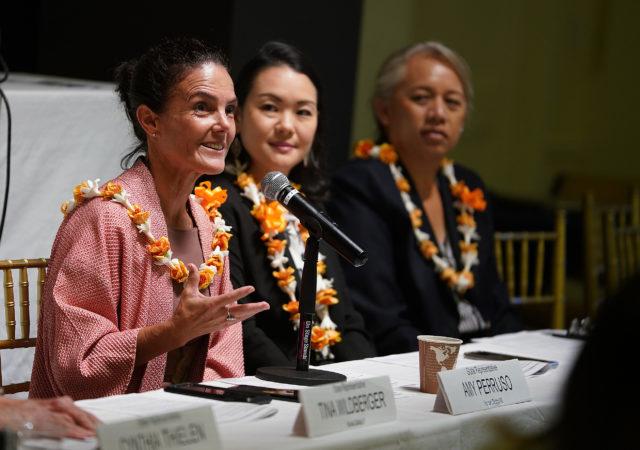 Rep Amy Peruso 2019 Hawaii Womens Legislative Caucus Breakfast.