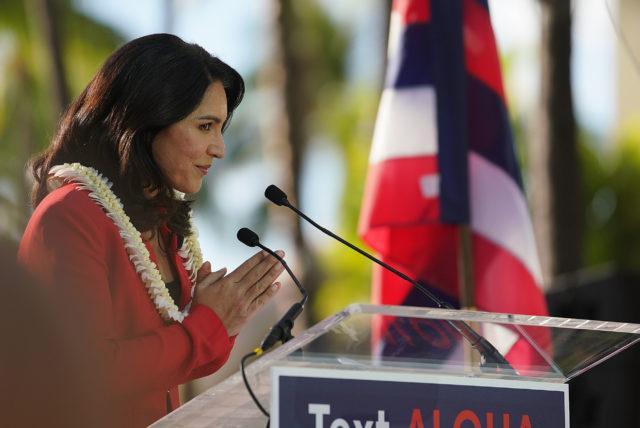 Congresswoman Tulsi Gabbard announces her run for president.