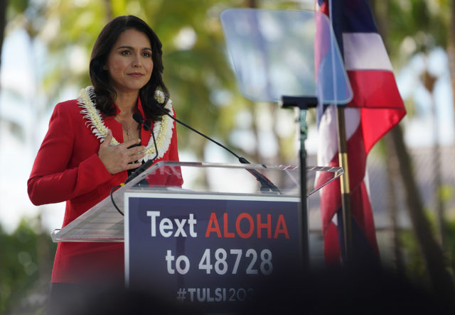 Congresswoman Tulsi Gabbard announces her run for president.