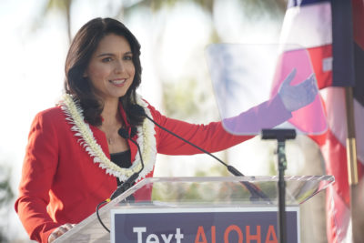Gabbard Continues To Poll Poorly In Presidential Field
