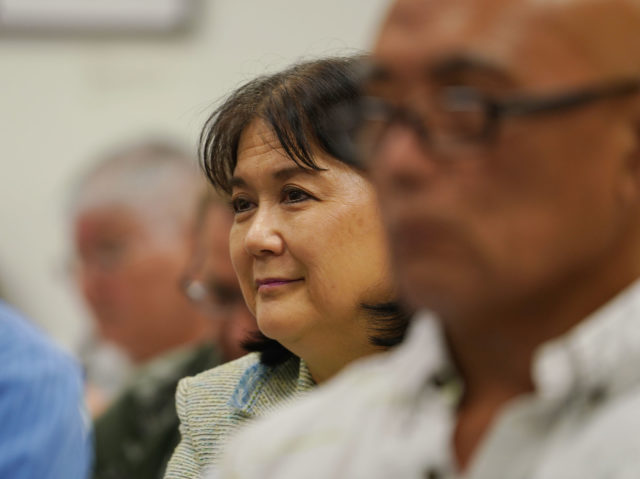 Office of Information Practices Director Cheryl Kakazu Park OIP during oversignt commission hearing.