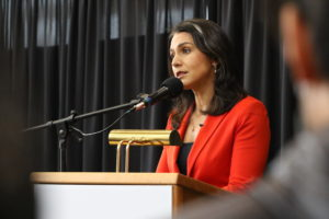 'No. No. No.' Gabbard's Nuclear Position Contrasts With Presidential Hopefuls