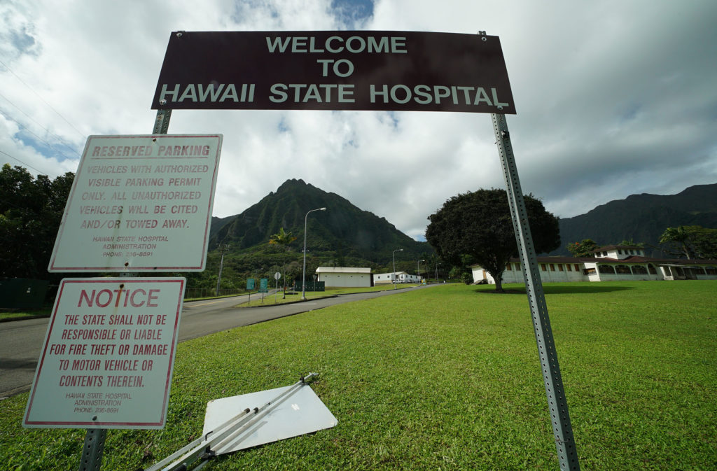 Welcome to the Hawaii State Hospital.